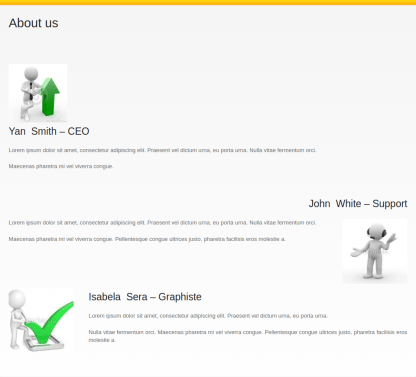 About Us Page of Caresland Lite