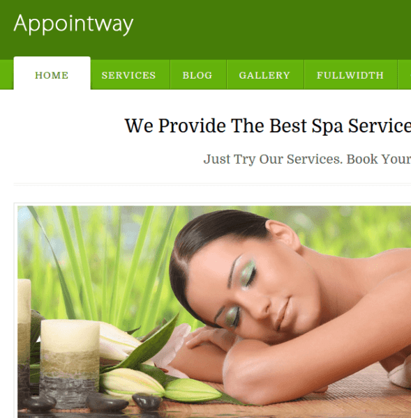 AppointeWay Homepage