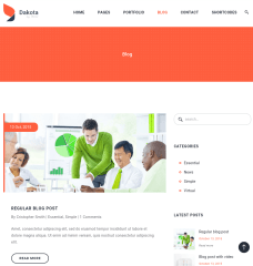 Blog-Dakota-WordPress-theme