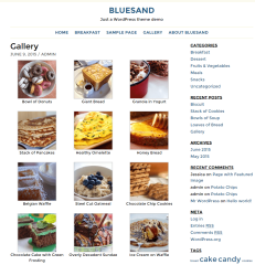 Bluesand- Gallery of this theme