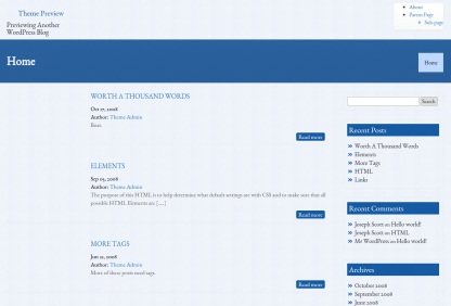 Business Group - VSS Home Page
