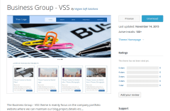 Business Group – VSS WordPress Page