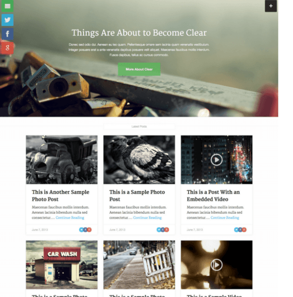 Clear News - WordPress Blog and Magazine theme