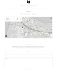 Contact Page of Luxi
