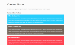 Content Boxes shortcode for Ignition theme