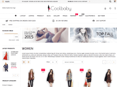 Coolbaby Product Page
