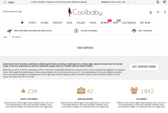 Coolbaby Services Page