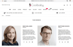 Coolbaby Team Member Page