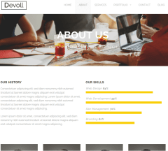 Devoll-WordPress-theme-