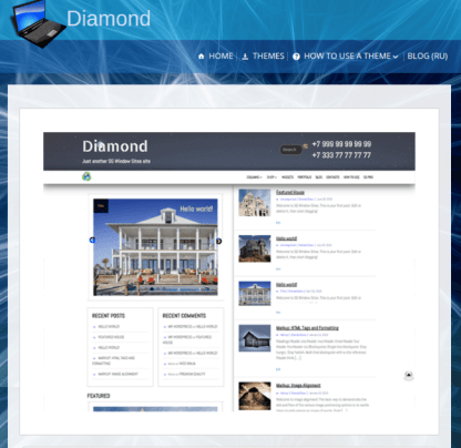 SG Diamond Theme