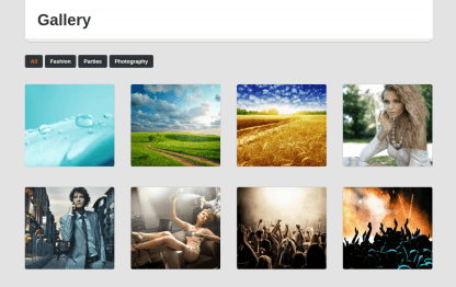 Eventor Gallery Page