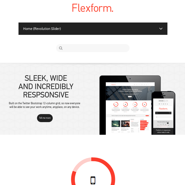Flexform – Retina Responsive Multi-Purpose Theme