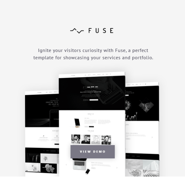 Fuse - Business WordPress theme