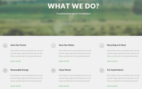 Green Nature Services Page