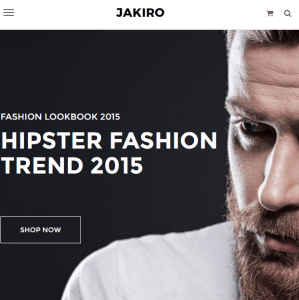 Jakiro- An Ecommerce WordPress theme