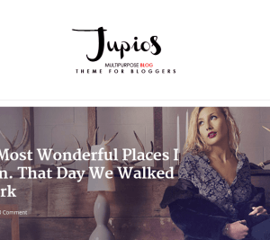 Jupios homepage