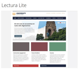 Lectura Lite WordPress Theme