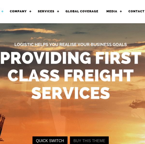 Logistic homepage