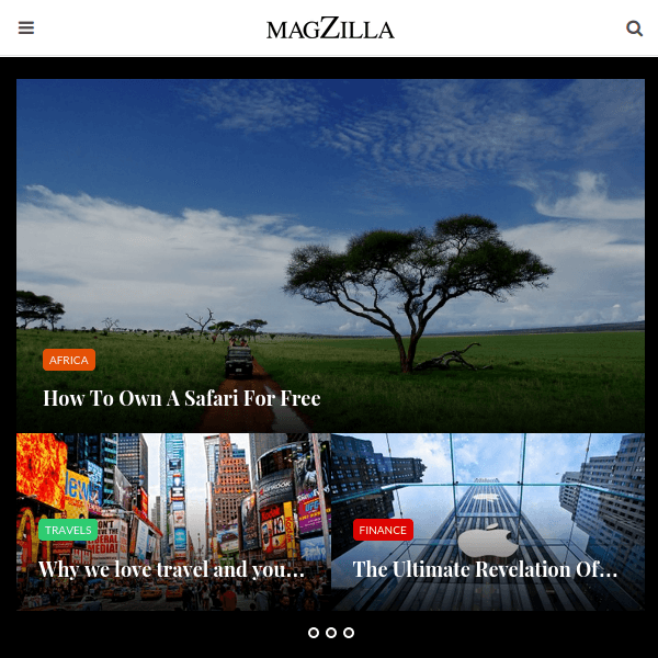 MagZilla – For Newspapers, Magazines and Blogs