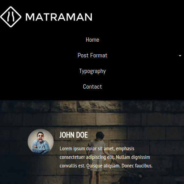 Matraman Lite WordPress Theme