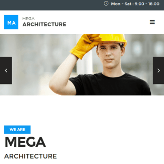 Mega Architecture - Construction/Building WP Theme