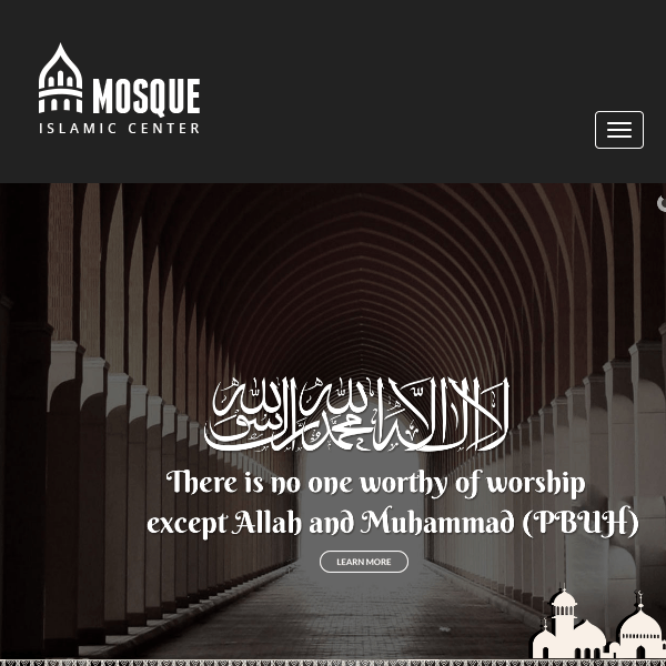 Mosque - Islamic Center WordPress Theme