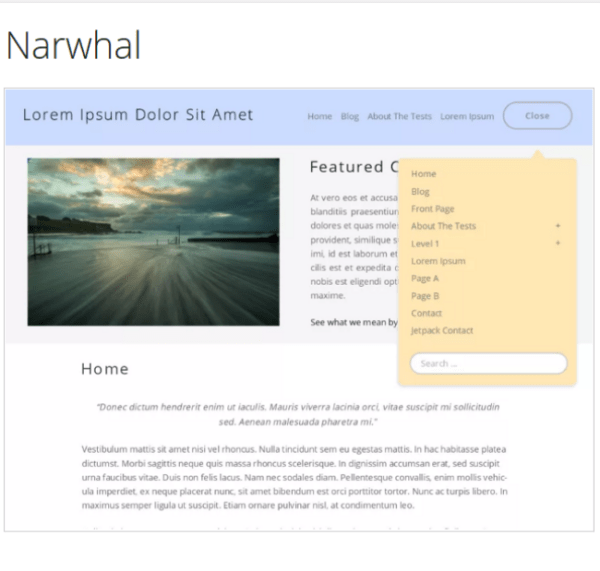 Narwhal Theme