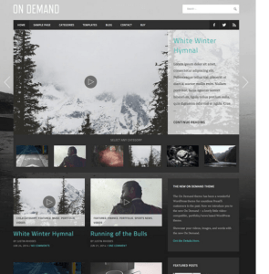 On Demand -WordPress theme used for Business or Blog and Magazine (2)