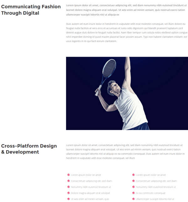 Pitch- Case study page template