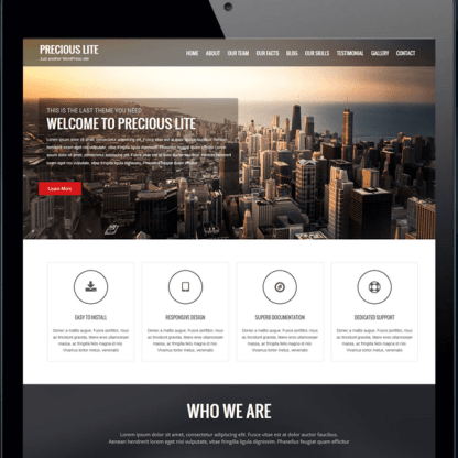 Precious Lite WordPress Theme