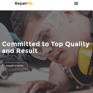 RepairMe - Professional Handyman Wordpress Theme