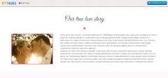 SKT Wedding Lite Our Story Page