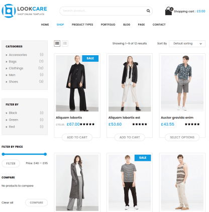 Shop-Wordpress-theme-Lookcare