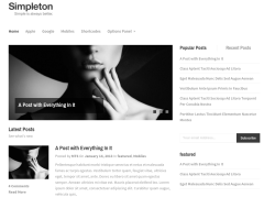 Simpleton Home Page