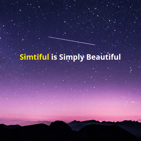 Simtiful WordPress Blog Theme