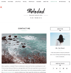 Soledad-WordPress-theme-Contact