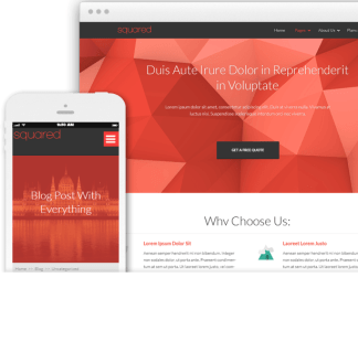 Squared - Perfect Multipurpose Theme for Marketing with awesome features