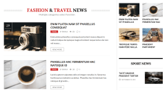 The REX Travel News Section