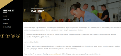 TheWest Gallery Page