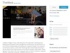 TheWest WordPress Page