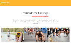 Triathlon About Us Page