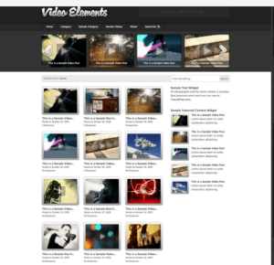 Video Element theme