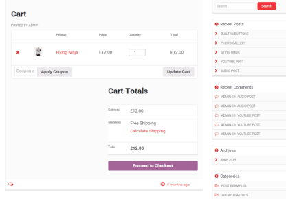 View to cart shown by Mediaphase Lite theme