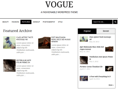 Vogue Featured Page