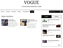 Vogue Style Page