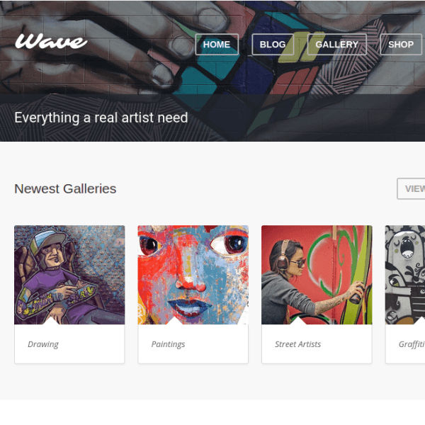 Wave-WordPress-theme