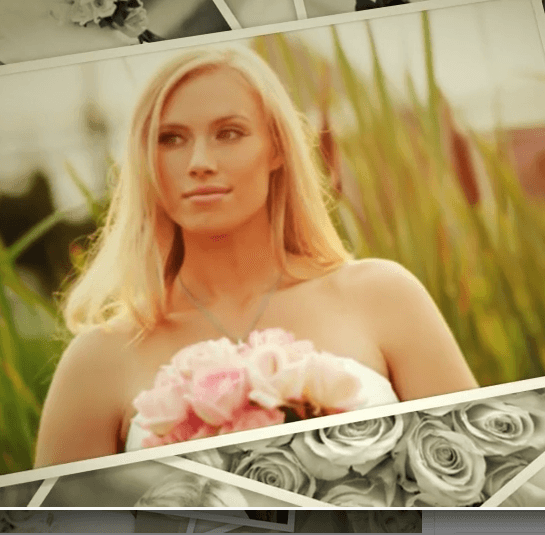 Wedding Photos- A Video album theme