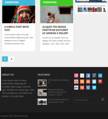 WordPress-theme-Metro