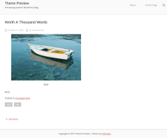 WordPress-theme SiteOrigin North single page
