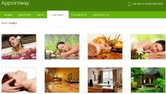 gallery page of AppointeWay